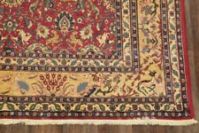 Vegetable Dye Antique Hunting Design Animal Pictorial Collectible Area Rug 7x11