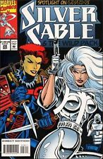 SILVER  SABLE   { Marvel  -  Sept  1994 }  ##28  ##29  ##31