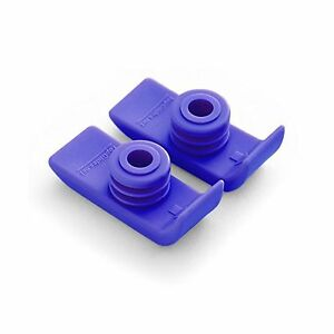 1 Pair Durable Ski Glides for Drive Walkers (Purple) Purple