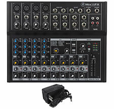 New Mackie Mix12FX 12-Channel Compact Mixer W/FX Proven Performance Built Rugged