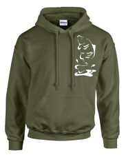 CARP FISHING CLOTHING, HOODY. LEAPING CARP, 3 COLOURS, SIZE S - 3XL.