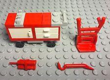 Lego New City Mechanic Mini Figure Tools Cart,trolley,dynamite,crowbar Utensil