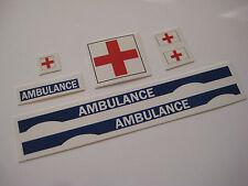 Corgi 482 Ambulance Range Rover Stickers - B2G1F