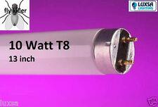 Pack of 4 13 INCH 10W UV UVA FLY KILLER TUBE 13'' 10 Watts F10T8BL 350 368