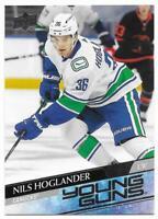 2020-21 Upper Deck Young Guns Nils Hoglander Rookie # 205 NM/MT RC