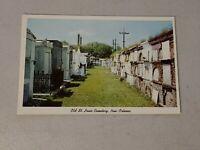 Vintage Postcard Old St. Louis Cemetery, New Orleans LA Unposted #612