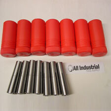 "#2 Morse Taper Collet 7 Pc . Set 1/8"" - 1/2"" 2MT MT2 3/16 1/4 3/8 Round Chuck"