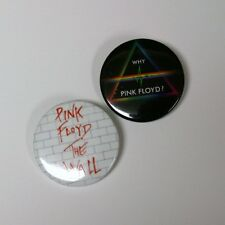 """Pink Floyd The Wall - Bricks Why Pink Floyd? 1.5"""" Button Pin 4 PINS"""