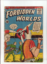 Forbidden Worlds #89 G- 1960 ACG Comic Soldiers Plane