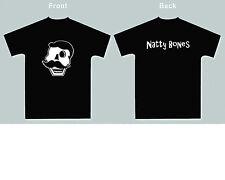 New! Natty Bones Skull T-shirt - (Black) Size Men's (Xl) Skeleton - Natty Boh
