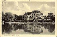 Fissau AK ~1950 Holsteinische Schweiz Partie Seeschloss Kellersee See Schloss