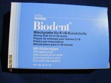 De Trey Dentsply Mischplatte für K+B - Kunststoffe mit Abdeckglas
