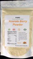 Acerola 1Lb Cherry SUPERFOOD Powder Freeze Dried PURO VITAMIN C