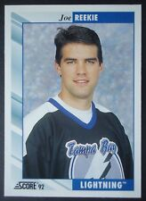 NHL 510 Joe Reekie Tampa Bay Lightning Score 1992/93