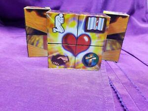 Evange Cube Biblical Teaching Aid English and Spanish