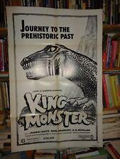 KING MONSTER/ DINOSAUR../ROBERT WHITE/  UM28/ 1 sheet poster