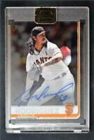 2019 Clearly Authentic Auto #CAA-DR Dereck Rodriguez - San Francisco Giants