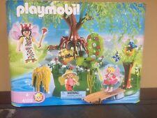 Playmobil Enchanted Fairy Tales Garden Playset 4199 Queen Island Retired Rare