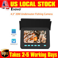 4.3 inch LCD Monitor Fish Finder Used 6-8 Hours IP68 Underwater Fishing Camera