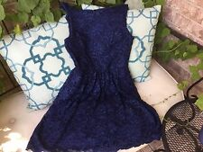New Teen girl's navy party or holiday dress in size 13