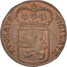 [#28804] NETHERLANDS, Duit, 1766, KM #102, AU(50-53), Copper, 3.12