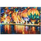 """Leonid Afremov """"With the Stars"""" Numbered Limited Edition on Canvas"""