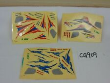 E SKY ESKY HONEY BEE CP2 REPLACEMENT PARTS STICKERS DECALS UNUSED