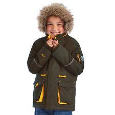 Regatta Boy's Heritage Kongo Walking Jacket 32 Chest Ivy Green