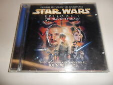 CD STAR WARS-EPISODIO I: the Phantom Menace (Original Motion Picture Soundtrack