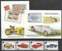 Antique Vintage Mail Yvert 1625 / 8+ Hb 271/2 MNH Automotive
