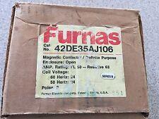 New Furnas 42DE35AF106 Definite Purpose Magnetic Contactor.
