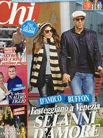 Chi 2019 42.Ilaria D'Amico-Buffon,Kim Rossi Stuart,Marco Borriello,Elton John