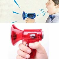 Amplifies Horn Toy Voice Changer Sound Effects Megaphone Loud Speaker Kids Toy