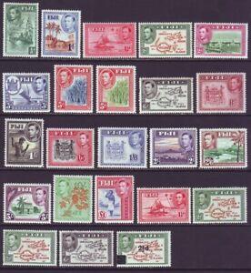 Fiji 1938 SC 117-136 MH Set