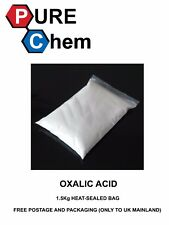 OXALIC ACID 1.5Kg HEAT-SEALED BAG for Hull Deck GRP Cleaner & Rust Remover