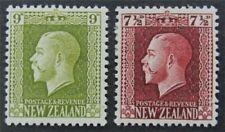 nystamps British New Zealand Stamp # 155,158 Mint OG H $53   L23x3102