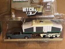 Greenlight  HITCH & TOW  2015 Ford F-150 Pickup w/ Pop-up Camper Trailer