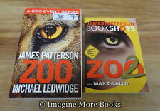 Zoo (Trade Paperback) & Zoo 2 (BookShots Paperback) by James Patterson