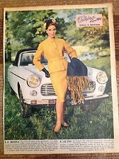 PEUGEOT 404 PIninfarina Cabriolet & Pin-Up 1962