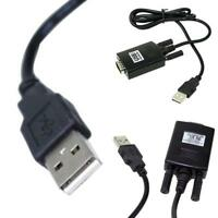 EG_   USB TO RS232 9 PINS CONNECTOR CABLE ADAPTER CONVERTER FOR WIN 7 8 MAC CHEE