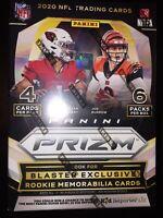 🔥🏈💪💥🔥🏈💪💥🔥🏈💪2020 Panini Prizm Football NFL Factory Sealed Blaster Box