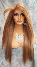 LACE FRONT C PART STRAIGHT WITH SIDE BANG  WIG CLR FS8.27.613 GORGEOUS SEXY 470
