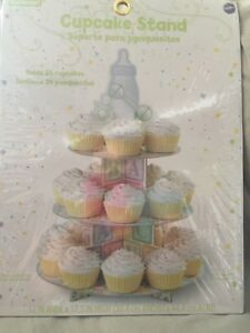 Baby shower/ Baptism Cupcake Stand