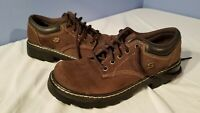 Skechers Women's Oxford Comfort Shoes size 9 Brown Leather SN 45120