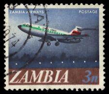 ZAMBIA 41 (SG131) - Zambia Airways Plane (pf95217)