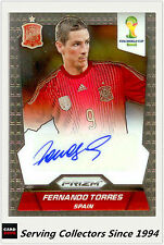 2014 Panini FIFA World Cup Soccer Signature Card Fernando Torres (Spain)