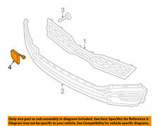 KIA OEM 12-15 Rio Front Bumper-Tow Hook Eye Cap Cover 865171W000