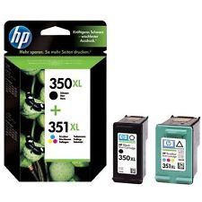 Original HP 350XL 351XL Black & Colour Ink Cartridges C4280 C4380 C4580 C4480 uk
