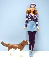 1991 Barbie in Origional Outfit with Pet Dog