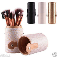 12PCS Makeup Brushes Set Cosmetic Powder Foundation Eyeshadow Brushes With Box